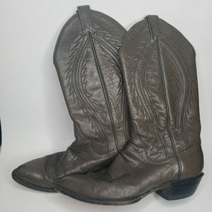 Mens Panhandle Slim Brown Western Cowboy Size 9